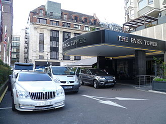 The Park Tower Knightsbridge Hotel - Entrance to the hotel