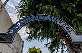 Parklands School sign, Motueka, New Zealand.jpg