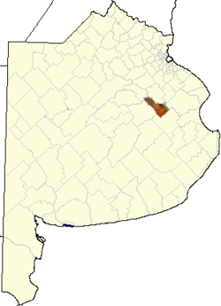 location of General Belgrano in Buenos Aires Province