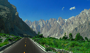 China–Pakistan relations - Karakoram Highway connects the two states, it is also sometimes referred to as the Eighth Wonder of the World.