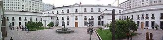 La Moneda Palace - Image: Patiodelosnaranjos
