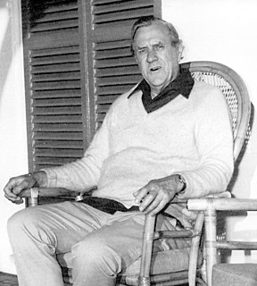 Patrick White English-born Australian writer