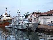 Patrol boat Port of Cirebon