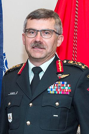 Commander of the Canadian Army - Image: Paul F. Wynnyk