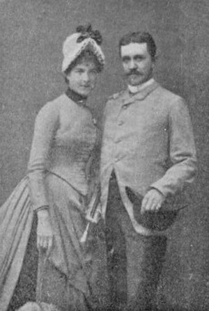 Sinebrychoff Art Museum - Paul and Fanny Sinebrychoff, responsible for a large portion of the museum's collections