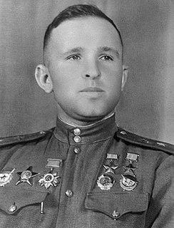 Soviet bomber pilot, Hero of the Soviet Union