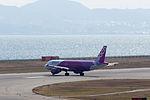 Peach Aviation ,MM15 ,Airbus A320-214 ,JA801P ,Departed to Busan ,Kansai Airport (16622710088).jpg
