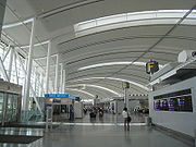 The new Terminal 1 Check-in Hall