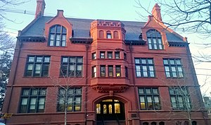 Pembroke Center for Teaching and Research on Women - Pembroke Hall, built in 1897, houses the administrative offices of the Pembroke Center for Teaching and Research on Women and the Cogut Center for the Humanities.