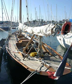 Éric Tabarly - Tabarly's cutter, the Pen Duick.