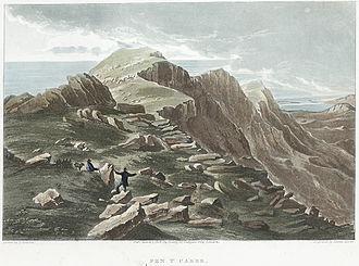 Cadair Idris - Cadair Idris in 1818