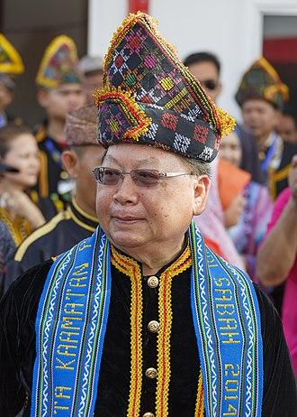 1990 Malaysian general election - Image: Penampang Sabah Joseph Pairin Kitingan 02