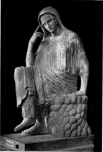 The Penelopiad - Penelope in the Vatican Museums