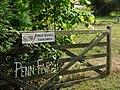 Penn Farmhouse gate - Ide Hill - geograph.org.uk - 217490.jpg