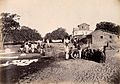 People doing laundry at the dhobi ghat, during bubonic plagu Wellcome V0029278.jpg