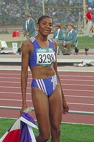 Marie-José Pérec - Image: Perec Atlanta 1996