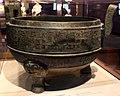 Periodo degli stati combattenti, stato jin, calderone treppiede per cuocere gli alimenti (ding), V secolo ac, da xi'an.jpg