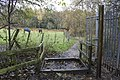 Permitted Bridleway 'Gate' at Ainsbury Avenue - geograph.org.uk - 1568015.jpg