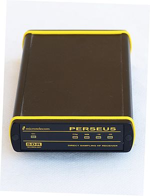 Software-defined radio - Microtelecom Perseus - a HF SDR for the amateur radio market