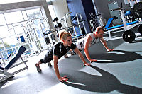 Personal Training at a Gym - Pushups.jpg