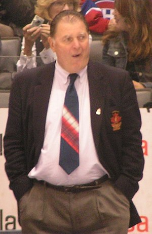 Peter Mahovlich - Pete Mahovlich coaching the Montreal Canadiens Alumni at the Legends Classic in Toronto in 2008