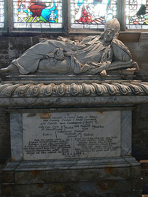 Peter Gunning - Monument Ely Cathedral.