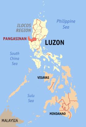 Lokasyon na Pangasinan