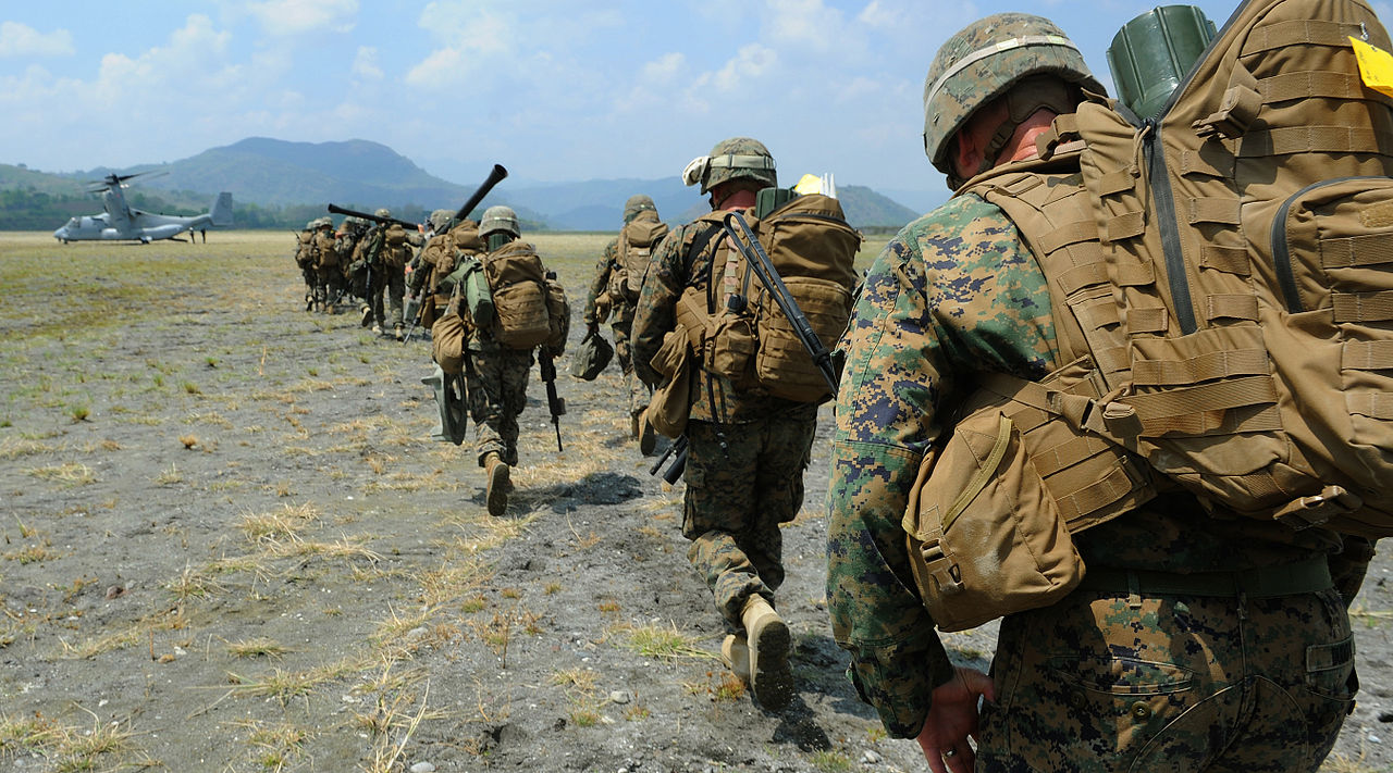 File Philippine Marines With Weapons Company 3rd Marine