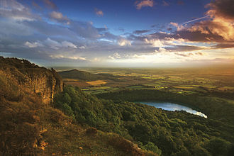 Welcome to Yorkshire - Sutton Bank, North York Moors National Park