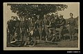 Photographic postcard depicting a group of soldiers (10198028003).jpg