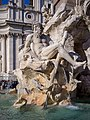Piazza Navona Gange fontana dei Fiumi Roma.jpg