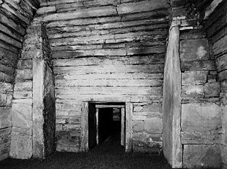 Chambered cairn - The interior of Maeshowe