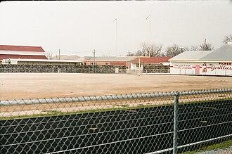 Picher, Oklahoma - Picher-Cardin High School stadium, 2008