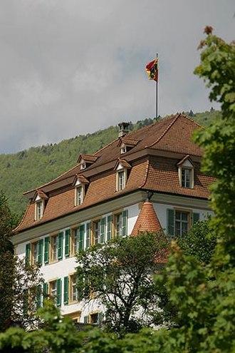 Moutier - Moutier Provost's Castle