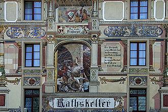 Ratskeller - The rathskeller in Olten, Switzerland