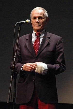 Pierre Schoendoerffer - Pierre Schoendoerffer at the Cinémathèque Française
