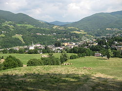 View of Pievepelago