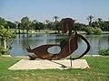 PikiWiki Israel 51287 sculpture of menashe kadishman in the national par.jpg