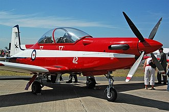 Fleet Air Arm (RAN) - RAN pilots undertake advanced flying training using RAAF Pilatus PC-9s of No.2 FTS