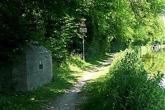 Kennet and Avon Canal - A Second World War pillbox near Kintbury