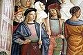 Pinturicchio, liberia piccolomini, 1502-07 circa, Pio II canonizza santa Caterina da Siena 05.JPG