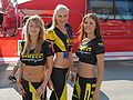 Pirelli girls at the 2004 Rally Finland.jpg