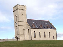 modernised Pitfour Chapel, Aberdeenshire, listed building