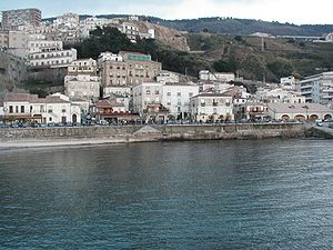 Pizzo, Calabria - Image: Pizzo Vista dal mare