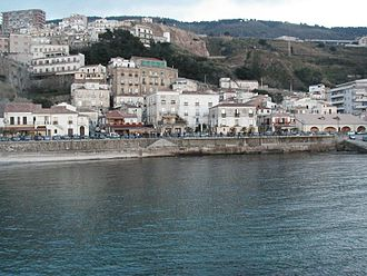 Tyrrhenian Sea - Image: Pizzo Vista dal mare