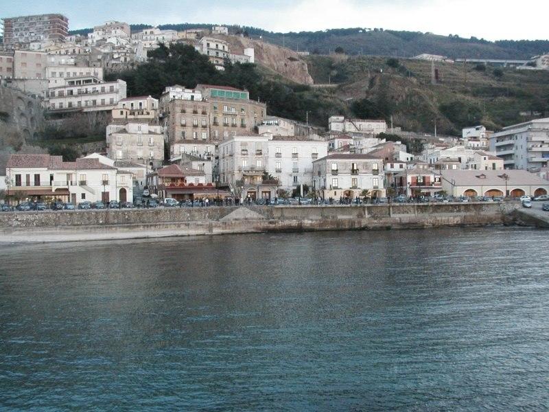 Pizzo-Vista dal mare