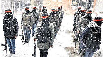 Civil Protection Units - YPS Members in the Snow