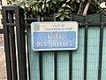 Plaque Allée Tilleuls - Charenton-le-Pont (FR94) - 2020-10-16 - 1.jpg