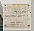 Plaque Richard Österreicher, Embelgasse 31.jpg