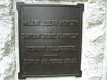 Plaque to Joseph Winston Jesse Franklin Richard Talliaferro Guilford Courthouse National Military Park.JPG